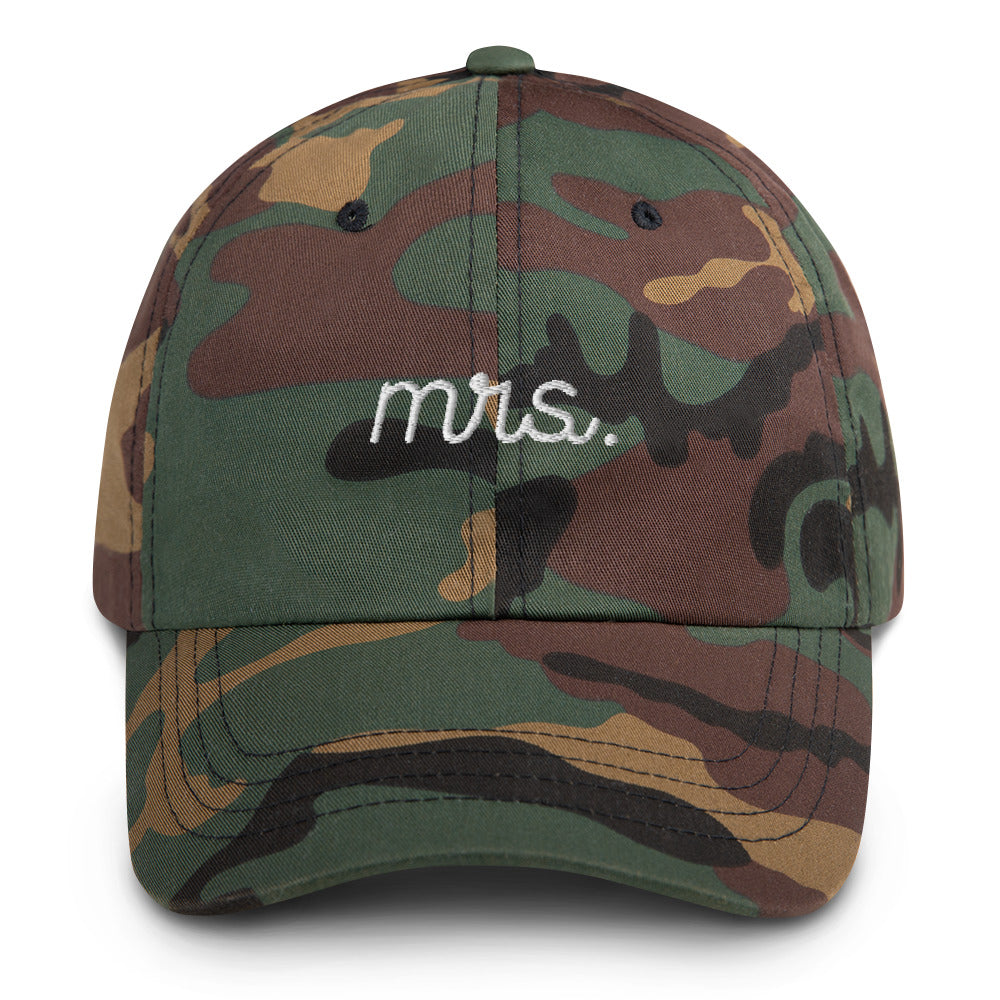 Mrs. Stitched Cap