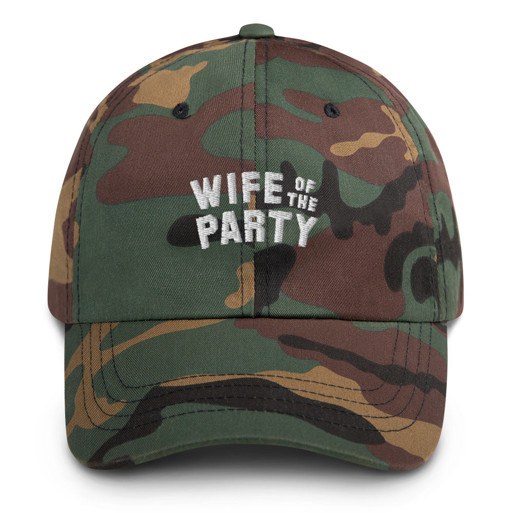 Wife of the Party Cap