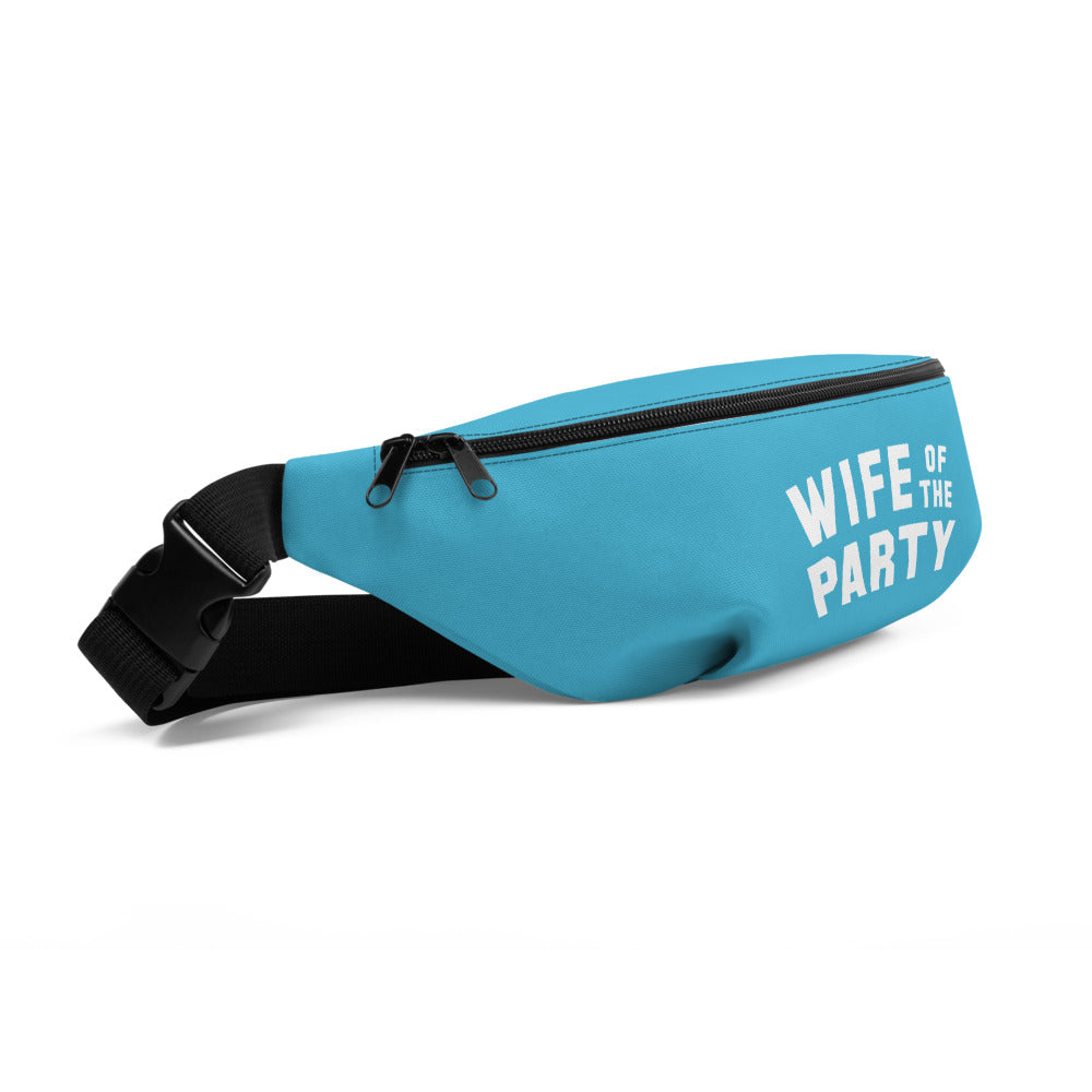 Wife of the Party Fanny Pack - Turquoise