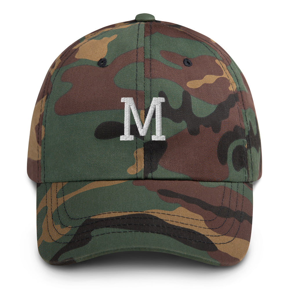 Customizable Initial Hat