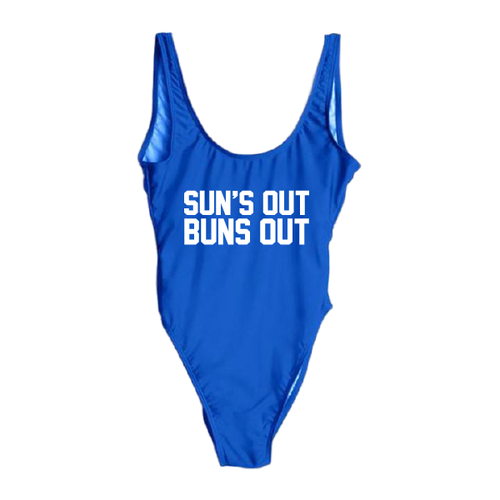 Sun's Out Bun's Out One Piece