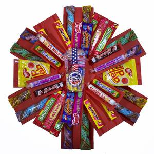 The Retro Sweets Explosion Reveal Gift Hamper Box