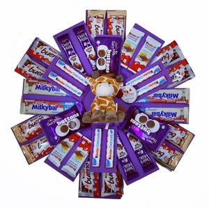 The Kids Chocolate Explosion Reveal Gift Hamper Box