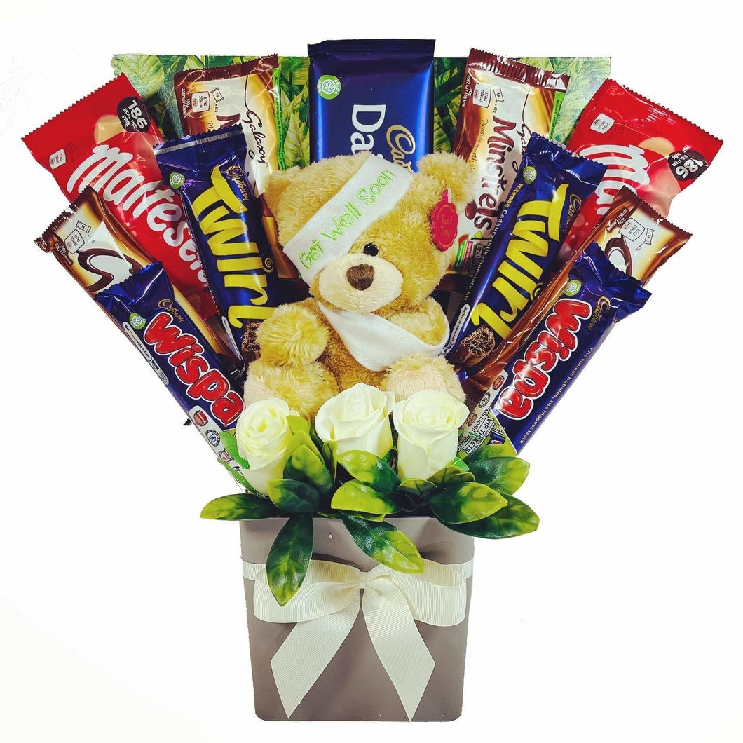 The 'Get Well Soon' Chocolate Bouquet