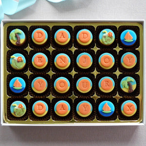 Life's A Beach Chocolates - box of 16 or 24