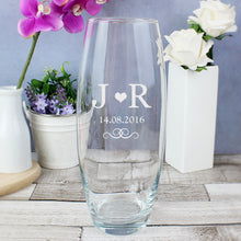 Load image into Gallery viewer, Personalised Monogram Bullet Vase