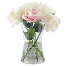 Load image into Gallery viewer, Personalised Glass Vase