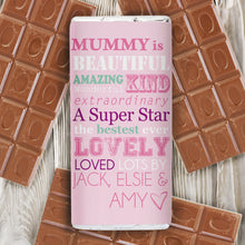 Load image into Gallery viewer, Personalised She Is... Milk Chocolate Bar