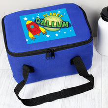 Load image into Gallery viewer, Personalised Blue Lunch Bags