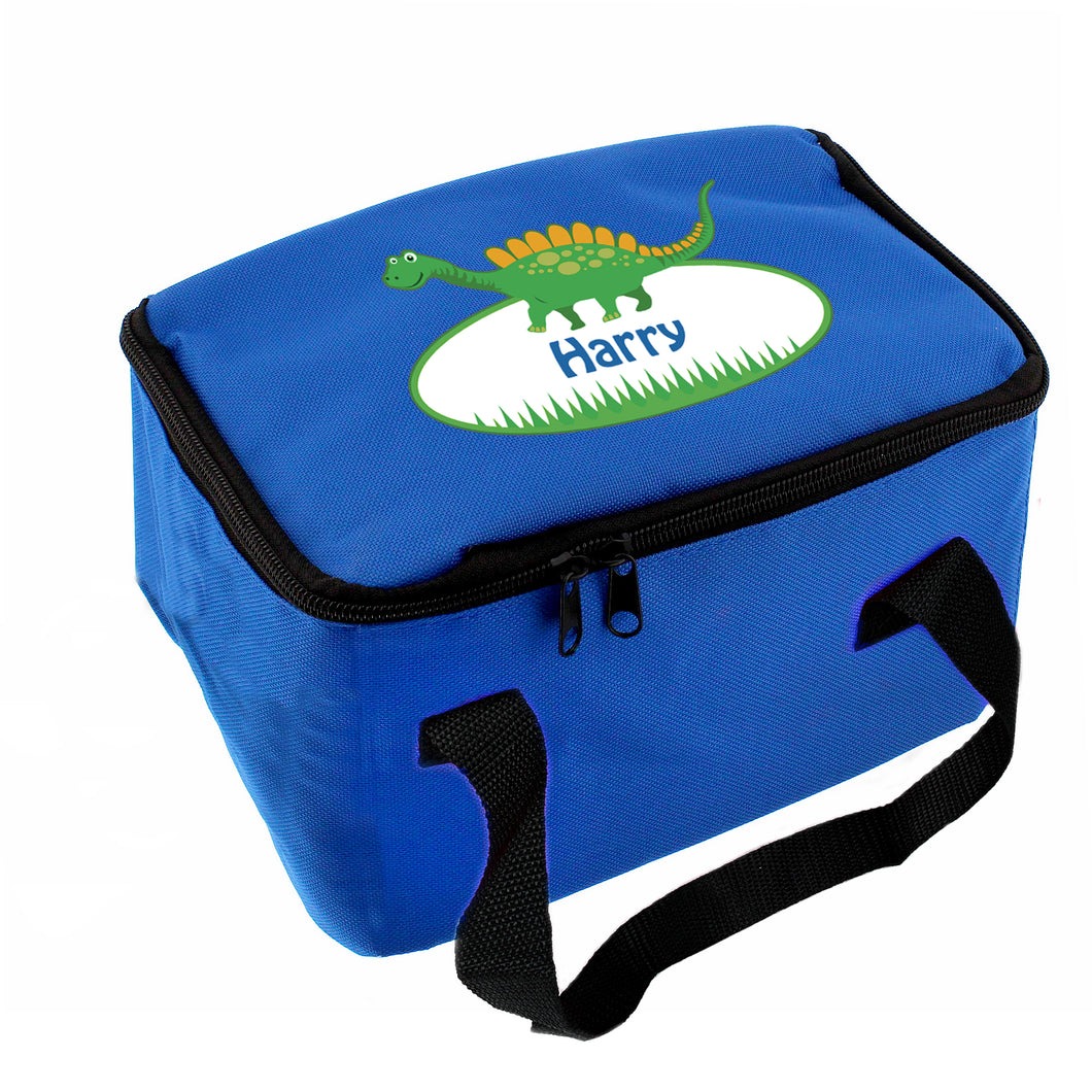 Personalised Blue Lunch Bags