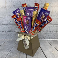 Load image into Gallery viewer, Toblerone, Milka & Daim Chocolate Bouquet