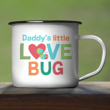 Load image into Gallery viewer, Very Hungry Caterpillar Enamel Mug - Love Bug