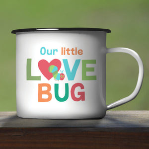 Very Hungry Caterpillar Enamel Mug - Love Bug