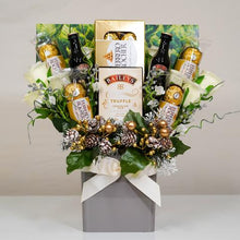 Load image into Gallery viewer, The Christmas Baileys & Chocolate Bouquet