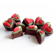 Load image into Gallery viewer, Personalised Chilli Chocolate Hearts