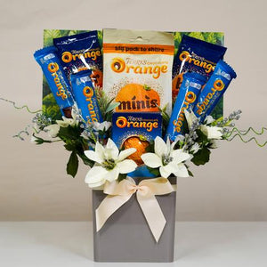 The Christmas Terry's Chocolate Orange Selection Bouquet