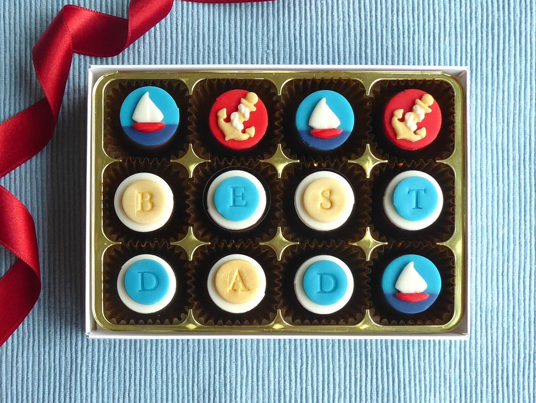 Sail Away Chocolates -  Boxes of 12, 16 or 24