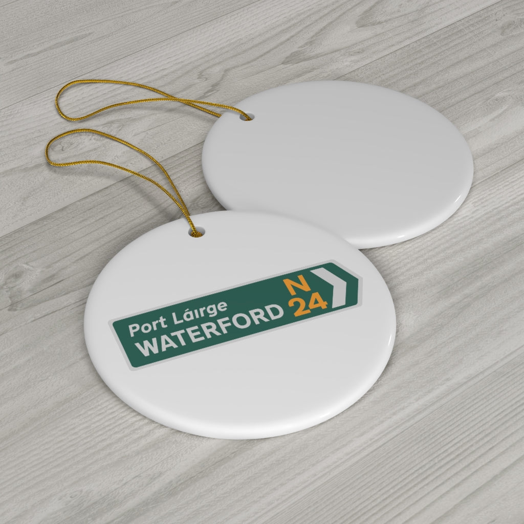 Waterford Ceramic Ornaments