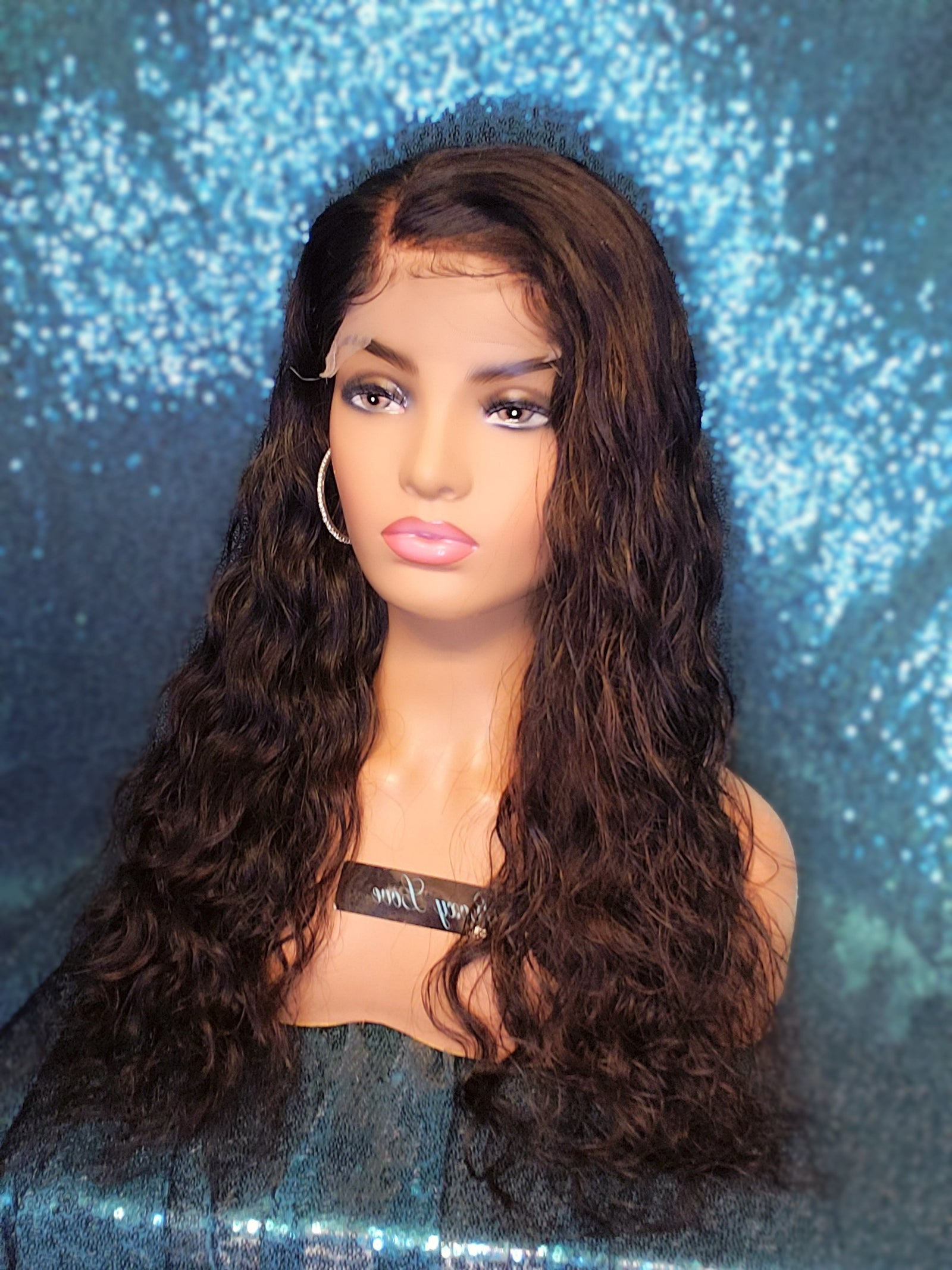 "20"" ✴Highlighted✴ Loosewave Lace Closure Wig"