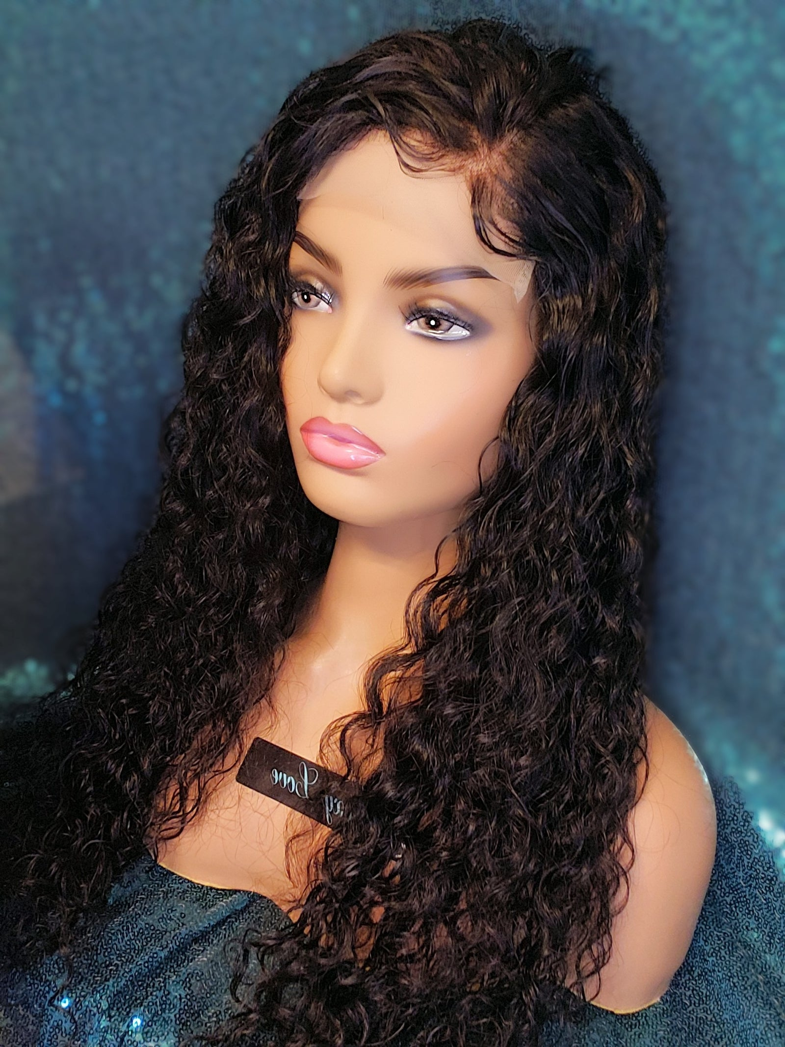 "22"" Waterwave Lace Closure Wig"