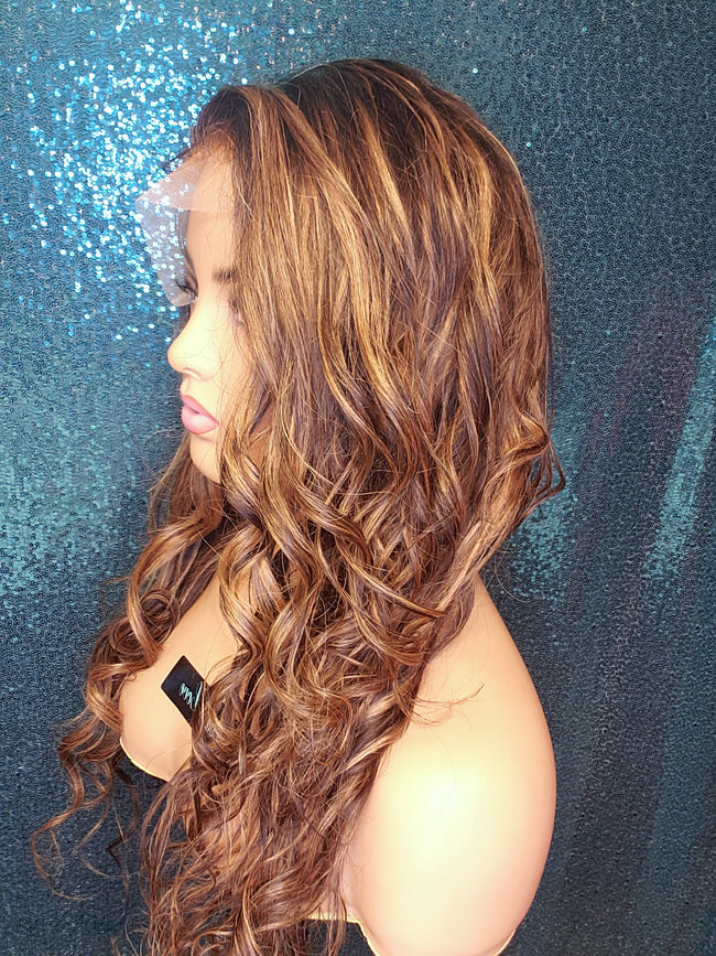 "20"" ✴HIGHLIGHT ✴ Loose Wave Lace Closure"
