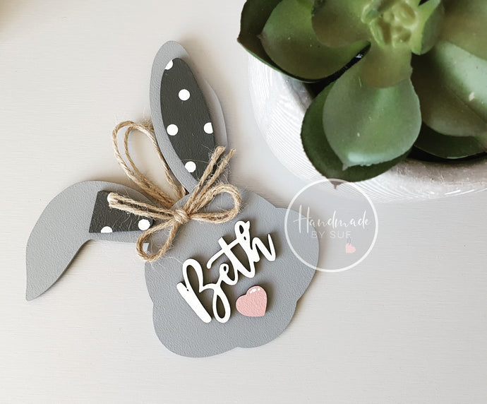 Personalised Bunny Hanging Sign