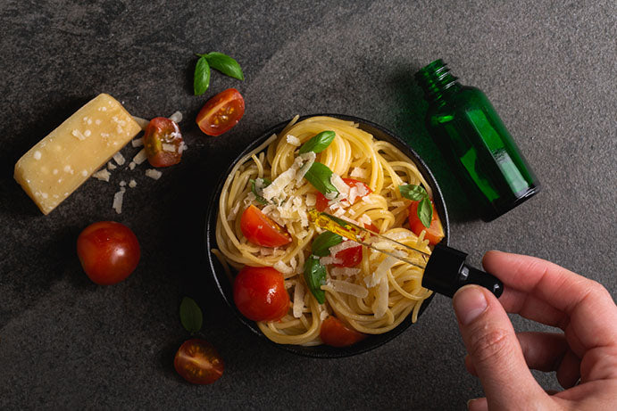 infusing noodles with cbd oil
