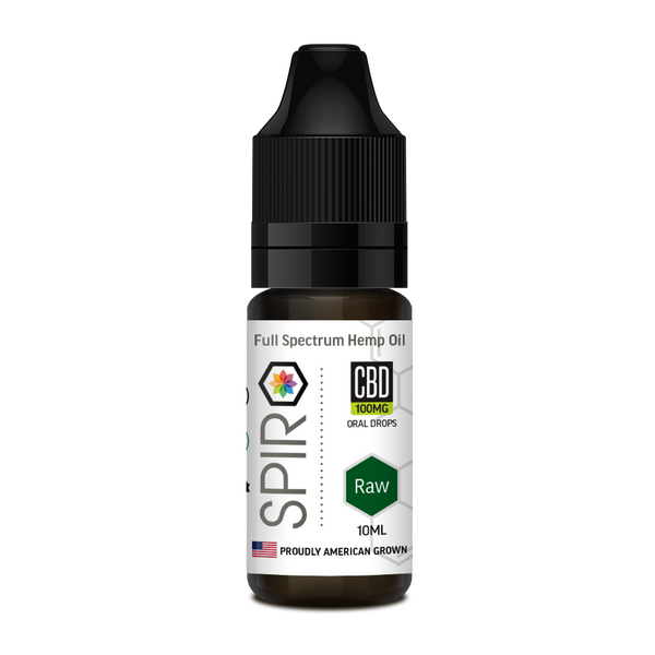 Spiro Raw Full Spectrum CBD Tincture