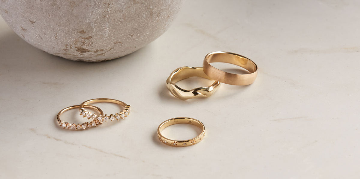 Ceremonial Wedding Bands by Natalie Marie
