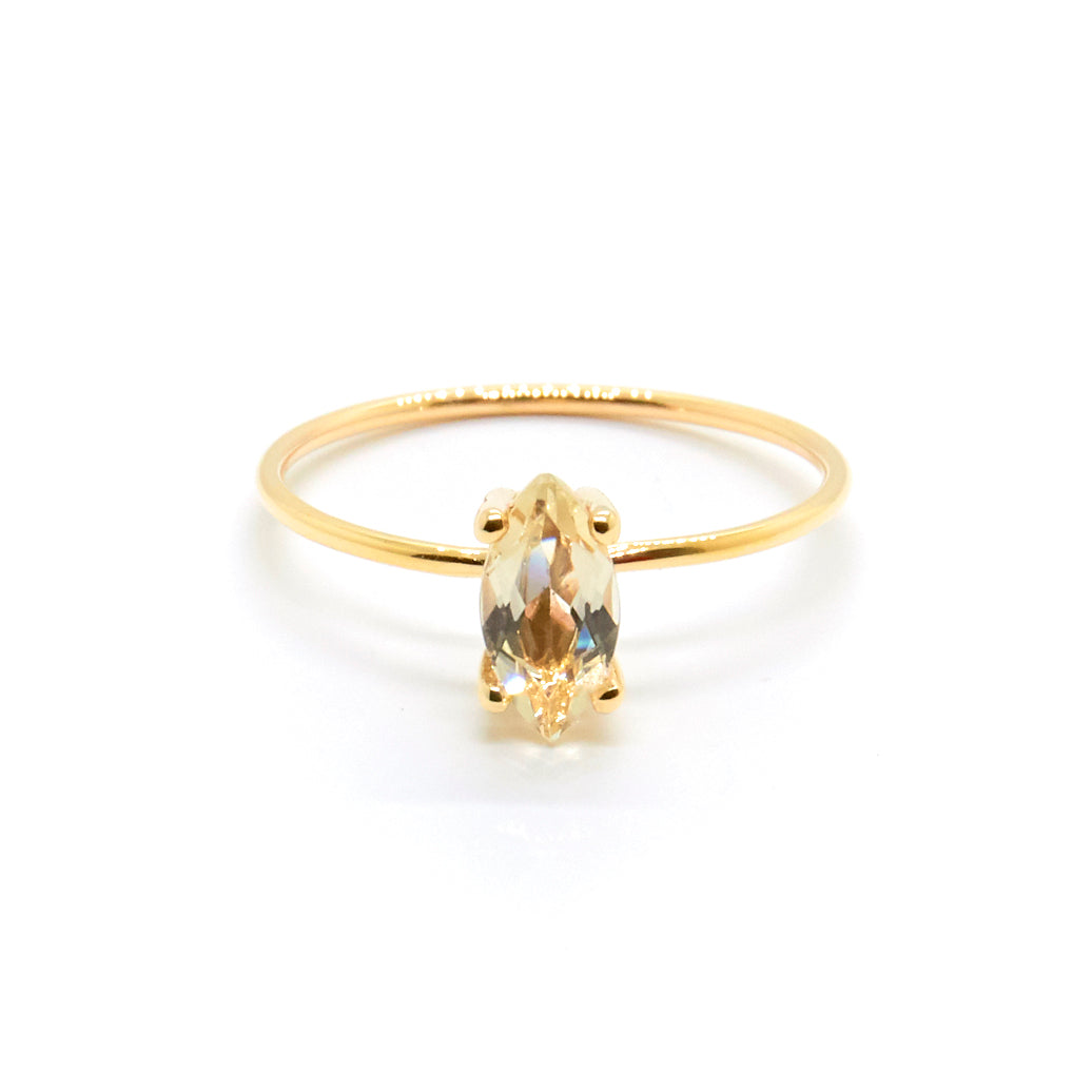 Marquise Ring with Savannah Sunstone
