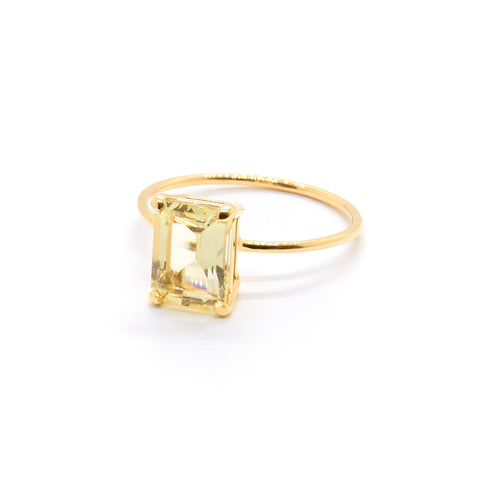 Emerald Cut Savannah Ring