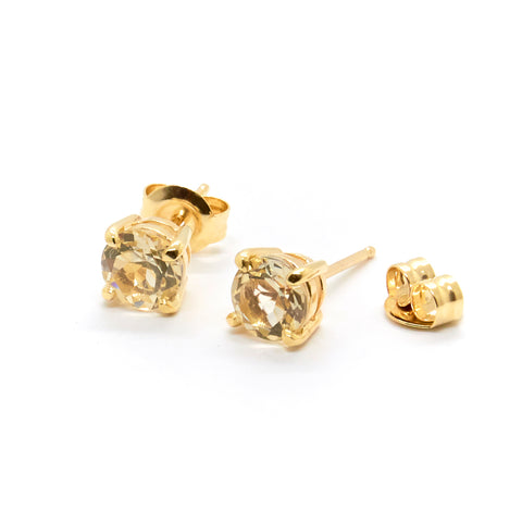 Savannah Sunstone Studs