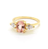 Stevie Ring | Morganite and Diamonds