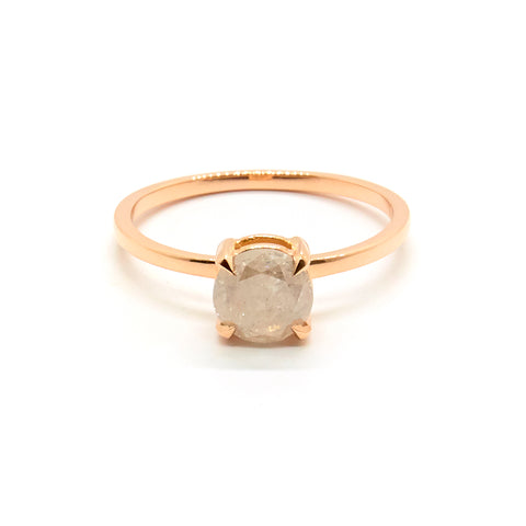Petite Precious Ring | Grey Diamond
