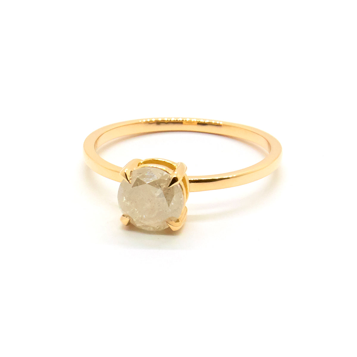 Petite Precious Grey Diamond Ring