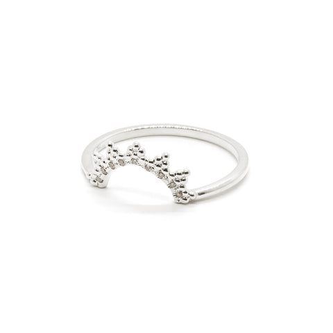 Ivy Crown Ring | Diamonds