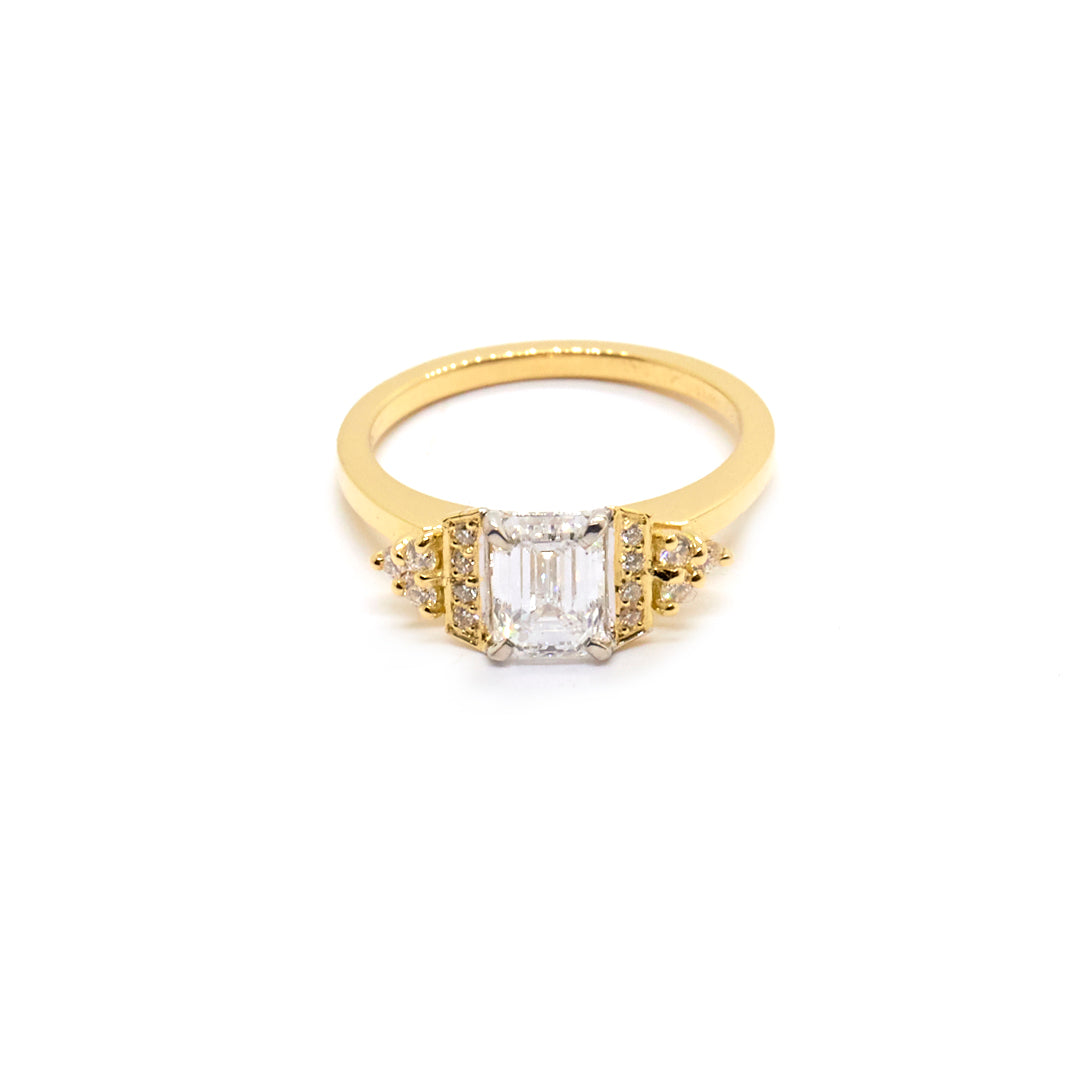 Emerald Cut Diamond  | Bespoke 1648