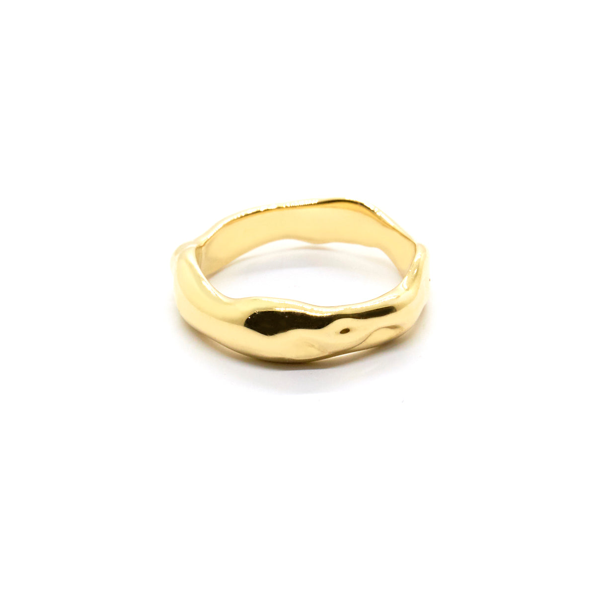 Organic Wedding Band