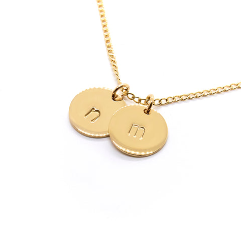 Additional Disc | Mini Initial Bracelet & Necklace