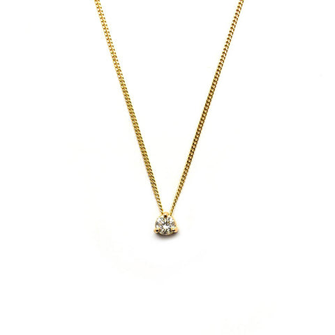 Diamond Slider Pendant
