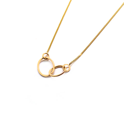 Loop Through Oval Necklace