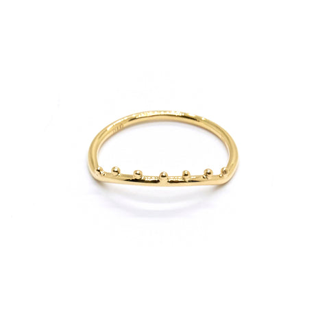 Dotted Arc Ring