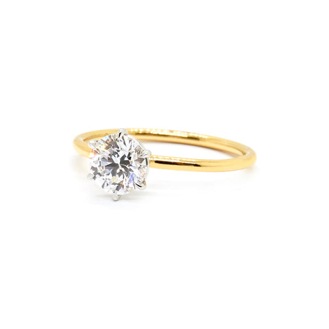 Signature Solitaire | 0.80ct Diamond