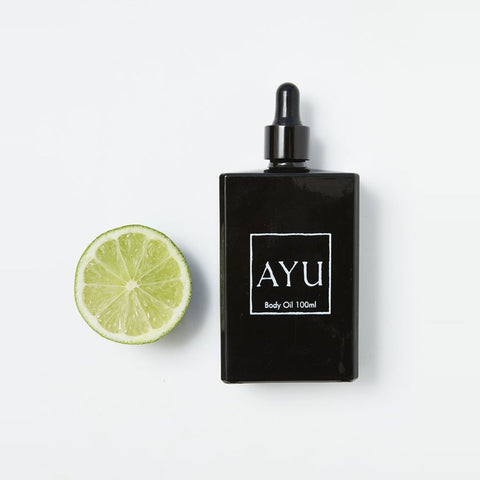 AYU Body Oil | Frankincense, Lime & Neroli