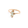 Alya Stone Ring | Green Amethyst