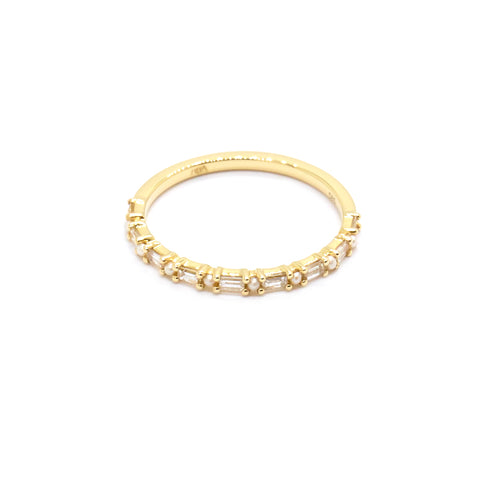 Ophelia Ring | Diamond & Pearl