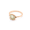 Aurora Ring | Green Amethyst