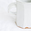 Facet Mug | Off White Speckled