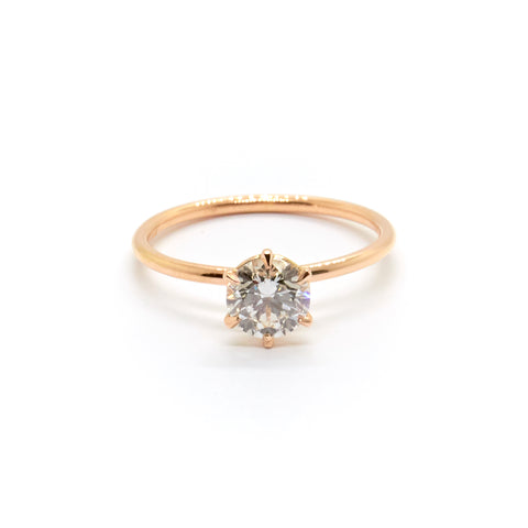 Signature Solitaire | 0.74 carat Diamond