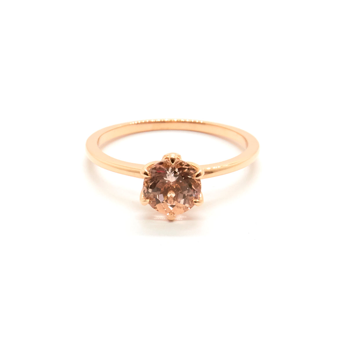 Mandala Solitaire | Morganite